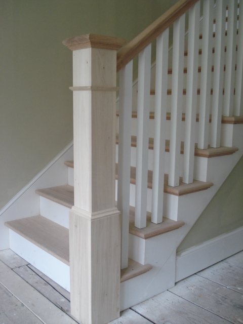 Custom built railings