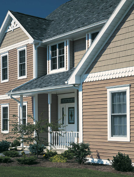 Vinyl siding colors types options explained here for Types of siding