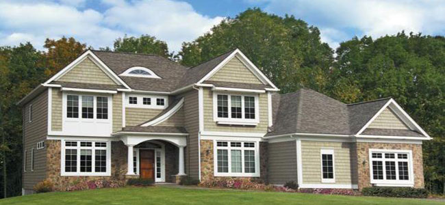 Vinyl siding options pictures elegant around dark siding for Siding choices
