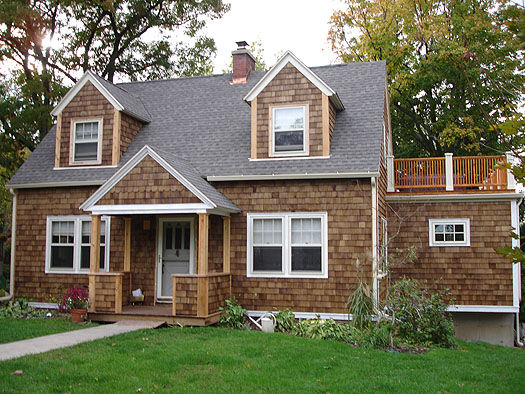 Cedar shingled house pictures