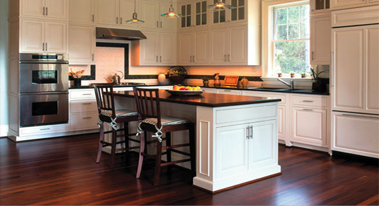 Kitchen remodeling ideas for your home budget planning for Kitchen floor remodel ideas