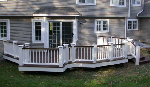 Deck Contractors MA Composite Wood Porch Builders In