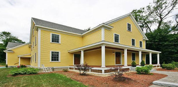 MA siding contractors offering wood and vinyl siding installations.